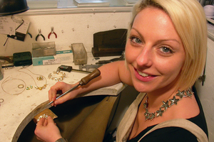 Charmian Beaton Design workshop jewellery commissions maidstone