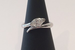 .50ct marquise diamond bespke engagement ring handmade in 18ct white gold by charmian beaton design (2)