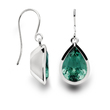 Stunning green amethyst earrings