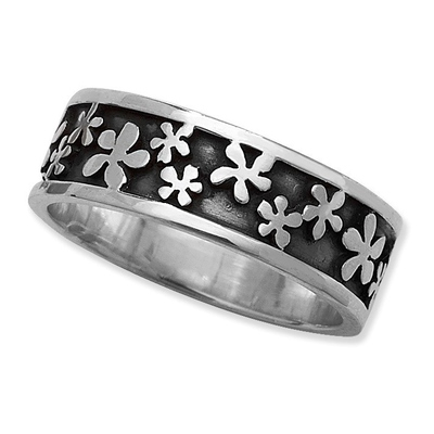 Enchanted flower ring