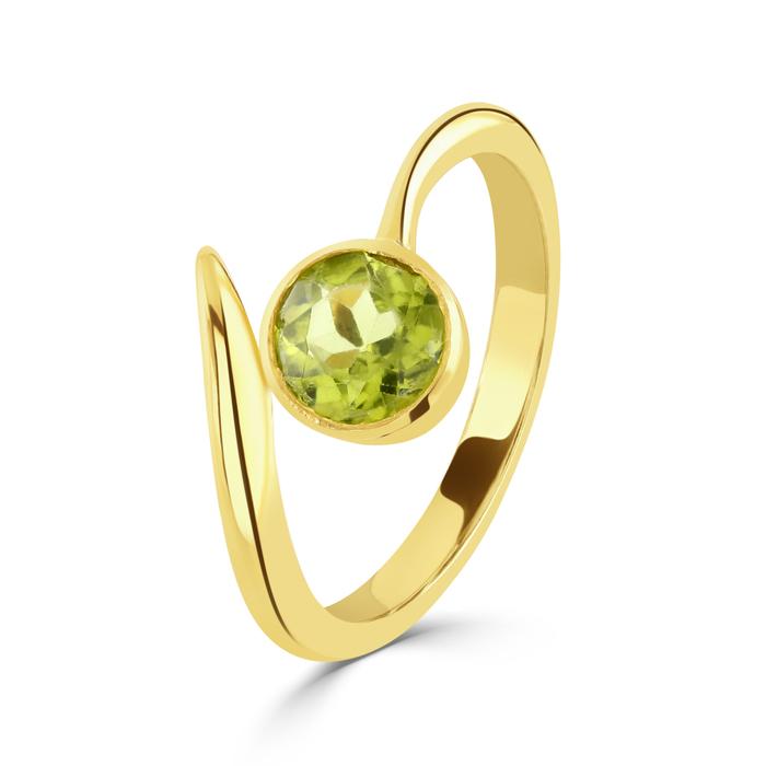 Luna Harmony Gold ring in 9ct yellow gold handmade by Charmian Beaton