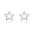 Narcisa Star - large star studs